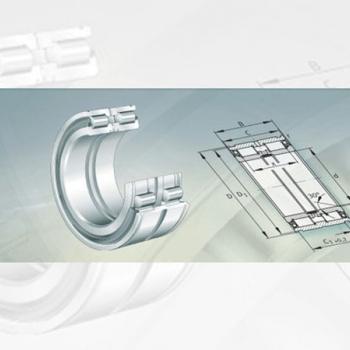 Bearing FAG Cylindrical Roller Bearings With Snap Ring Grooves